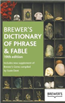 Brewer\'s Dictionary of Phrase and Fable 19th Edition