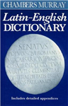Chambers Murray Latin-English Dictionary