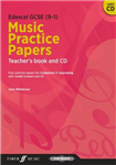 Edexcel GCSE Music Practice Papers Teacher's Book and CD