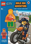 LEGO CITY: Gold Egg Adventure Activity Book with Minifigure