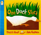 One Duck Stuck Board Book