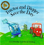 Tractor and Digger
