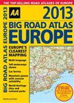 AA Big Road Atlas Europe: 2013