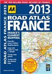 AA Road Atlas France: 2013