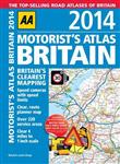 AA Motorist's Atlas Britain: 2014