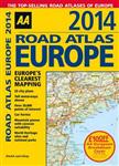 AA Road Atlas Europe: 2014