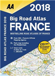 AA Big Road Atlas France