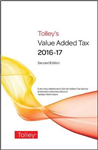 Tolley\'s Value Added Tax 2016 (Second edition only)