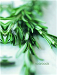 Lined Notebook: Rosemary: A 128-page Fine-lined Notebook
