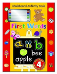 Chalkboard Activity Book - First Words: Chalkboard Learning Activity Book
