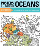 Posters to Color: Oceans