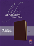 Life Application Study Bible: New King James Version, Burgundy Bonded Leather, Thumb Indexed