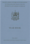 Mark Master Masons Yearbook: 2013