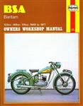 B. S. A. Bantam Owner\'s Workshop Manual
