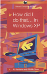 How Did I Do That... in Windows XP