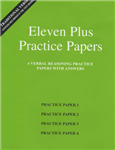 Eleven Plus Practice Papers 1 to 4: Traditional Format Verbal Reasoning Papers with Answers