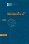 Dispute Settlement Reports 2011: Volume 3, Pages 1475-2200