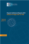 Dispute Settlement Reports 2011: Volume 6, Pages 3141-3750