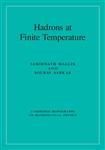 Cambridge Monographs on Mathematical Physics: Hadrons at Finite Temperature