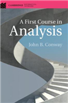 First Course in Analysis
