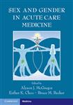 Sex and Gender in Acute Care Medicine