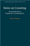 Notes on Counting: An Introduction to Enumerative Combinator