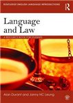 Language and Law: A resource book for students
