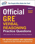 Official GRE Verbal Reasoning Practice Questions, Second Edi