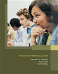 Essentials of Statistics: Pearson New International Edition