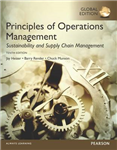 Principles of Operations Management: Sustainability and Supp
