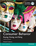 Consumer Behavior: Buying, Having, and Being plus MyMarketin