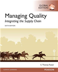 Managing Quality: Integrating the Supply Chain, Global Editi