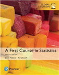 First Course in Statistics plus MyStatLab with Pearson eText