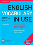 English Vocabulary in Use Elementary Book with Answers and E