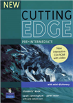 New Cutting Edge Pre-Intermediate Students Book and CD-Rom P