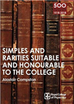 RCP 9: Simples and Rarities Suitable and Honourable to the C