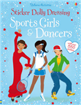 Sticker Dolly Dressing Sports Girls & Dancers