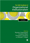 SAGE Handbook of Organizational Institutionalism