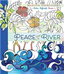 Adult Coloring Journal: Peace Like a River: 24 Inspiring Illustrations & Scripture Quotes Throughout