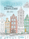 Coloring Book of Urban Sketches