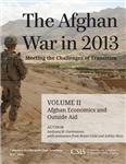 Afghan War in 2013: Meeting the Challenges of Transition