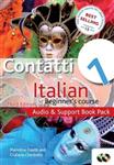Contatti 1 Italian Beginner\'s Course: Audio and Support Book Pack: Audio and Support Book Pack