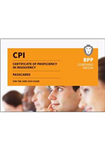 CPI Certificate of Proficiency in Insolvency Passcards: Passcards