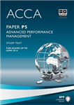 ACCA P5 Advanced Performance Management: Study Text