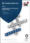 ILM Understand How to Establish an Effective Team: Workbook