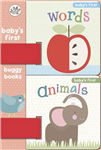 Animals and Words: Baby's First Buggy Books