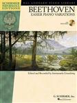 Ludwig van Beethoven: Easier Piano Variations (Schirmer Performance Edition)