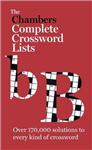 The Chambers Crossword Lists - New Edition