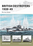 British Destroyers 1939-45: Pre-war classes