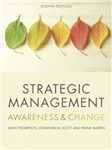 Strategic Management: Awareness and Change